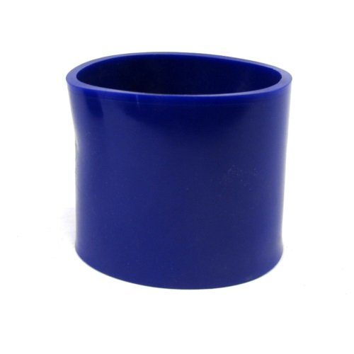 Blue 3' Rubber Coupler hose for shortram cold air intake kit cool ram
