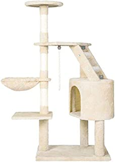 MOCHA Cat Climbing Tree Cat Tower with with Scratching Post Condo House Furniture