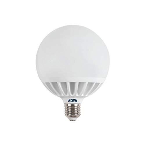 SET LAMPADINE LED DYA GLOBO E27 ALTA LUMINOSITÀ (4000K LUCE NATURALE, 1PZ 24W)
