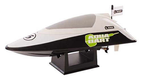 Rage RC Aqua Dart RTR Pool Boat (Black/Green) Toy