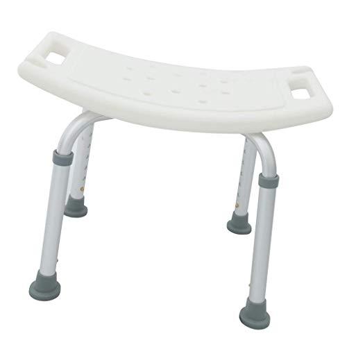 LHQ-HQ Silla de baño Antideslizante Silla de baño Silla de Asiento Banco de Ducha Ajustable, Alto