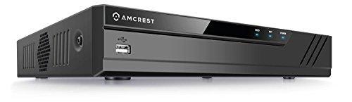 Amcrest 1080p ProHD 8 Channel DVR Security Camera System Recorder, 2MP Security DVR for Analog Security Cameras & Amcrest IP Cameras, Remote Smartphone Access, HDD & Cameras NOT Included (AMDV10818-H5