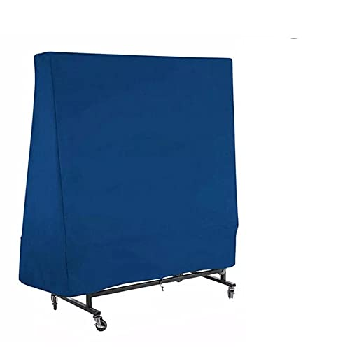 Lrxinki Funda Protectora para Mesa De Ping Pong para Exterior/Interior, Impermeable, Resistente Al Viento, Anti-UV con CordóN, Tela Oxford 210d Resistente (165 X 70 X 185cm)