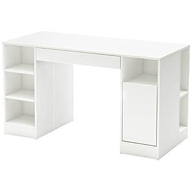 South Shore Crea Collection Craft Table, White