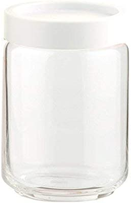 Ocean STAX Glass Jar Set, 650 ml, Set of 6, Transparent