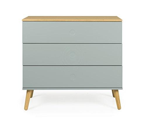 tenzo Dot Kommode, Holz, Salbei/eiche, 90 x 43 x 79 cm
