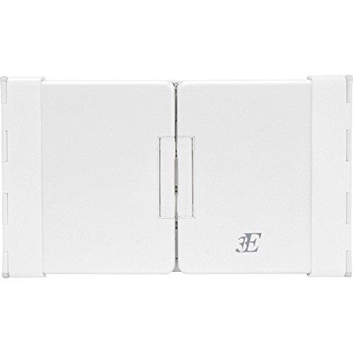 浅沼商会 3E-BKY7-WH 3E Bluetooth Keyboard 【TENPLUS】 3つ折りタイプ ホワイト×パールホワイト ケース付属