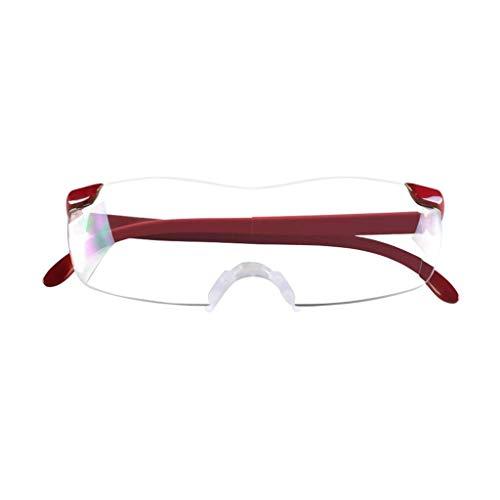 Gafas De Lectura - Lupa Portátil De Aumento 3X - Adecuada para Personas Mayores para Leer, Degeneración Macular