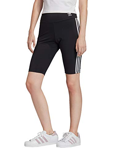 adidas Damen Tights Short Tights, Black/White, 42, FM2574