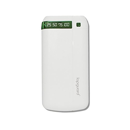 Lapguard 20800 mAh Lithium Ion Power Bank LG803 (White-Green)