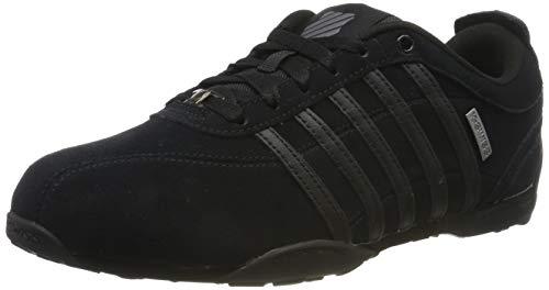 K-Swiss Herren ARVEE 1.5 SDE Sneaker,Schwarz (Black/Black 001),42 EU (8 UK)