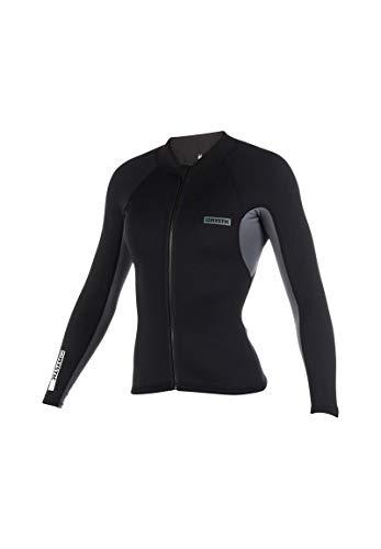 Mystic Watersports - Surf Kitesurf & Windsurfing Damen Marke 1.5mm Neopren Neoprenanzug Mantel Jacke Schwarz - Atmungsaktiv