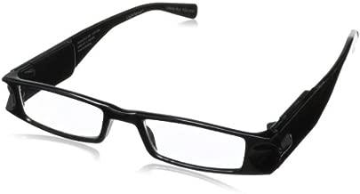 Foster Grant Lightspecs Liberty Rectangular Reading Glasses,Black,50 mm/+ 2