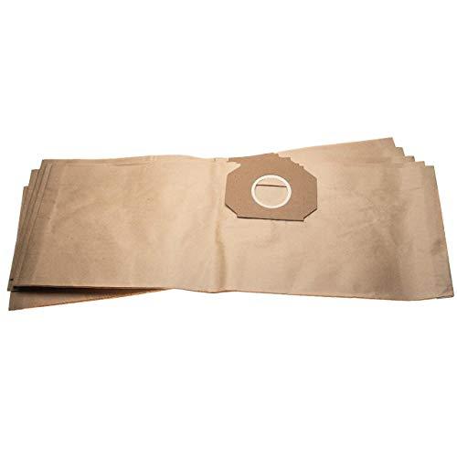 vhbw 10 sacs papier remplace Thomas 201, 787101 pour aspirateur 63,3cm x 22cm