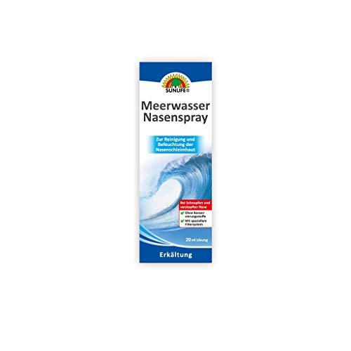Sunlife Meerwasser Nasenspray, 20 ml