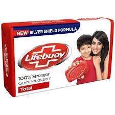 Lifebuoy Total Soap 60 Gram Unit (Pack of 12) by Lifebuoy