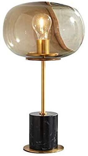 Einfache kreative Persönlichkeit Marmor Glas Tischlampe Schlafzimmer Nachttischlampe Wohnzimmer Esszimmer Café Studie Konferenztisch Arbeit...