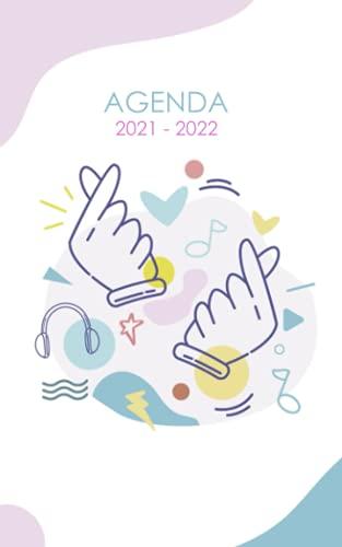 Agenda 2021 - 2022: Agenda Escolar dia por pagina k-pop kpop Para estudiantes...