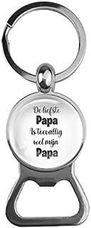 Bieropener Glas - De Liefste Papa Is Toevallig Wel Mijn Papa