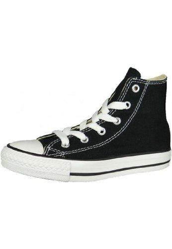 Converse Youths Chuck Taylor All Star Hi, Sneakers bassi Unisex Bambino, Black, 35 EU