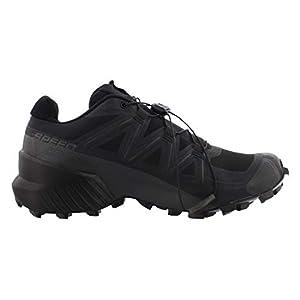 Salomon Men's Speedcross 5 Trail Running, Black/Black/Phantom, 11.5