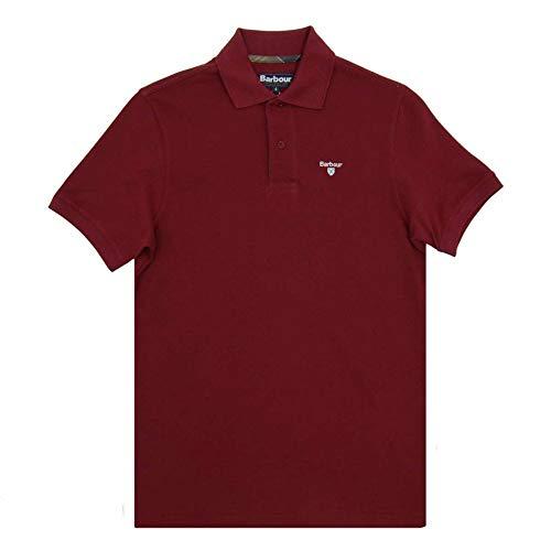 Barbour Tartan Pique Poloshirt, grau L