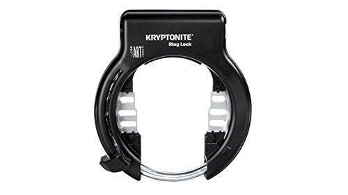 Kryptonite Fahrradschloss Rahmenschloss, Schlüssel abziehbar, black, Unisize, 3500444