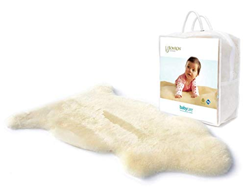Bowron Lammfell Babycare Teppich Kurz Wolle