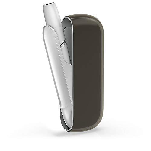 kwmobile Hülle kompatibel mit IQOS 3 Pocket Charger - TPU Schutzhülle - Cover in Schwarz Transparent