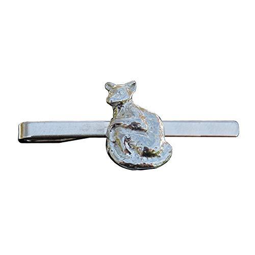 Lemur Kravattennadel, Lemur Krawattenklammer, Handgegossen von William Sturt aus Deutsche Zinn (Pewter)