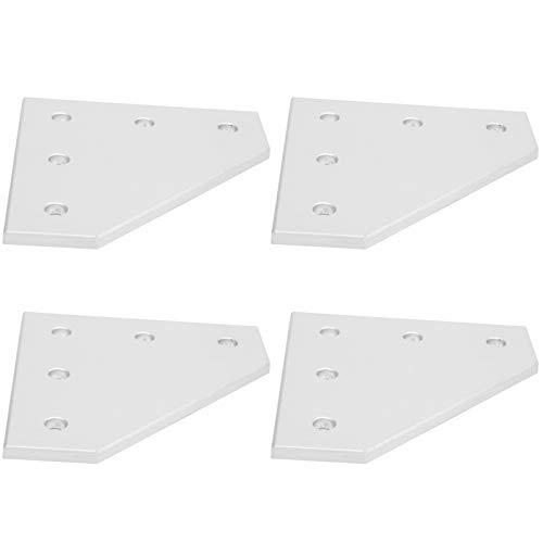 Placa de conexión, placa de unión Placa de unión, aleación de aluminio para la industria de la construcción Proyecto de robot enrutador CNC para impresora 3D(Type 4040L)