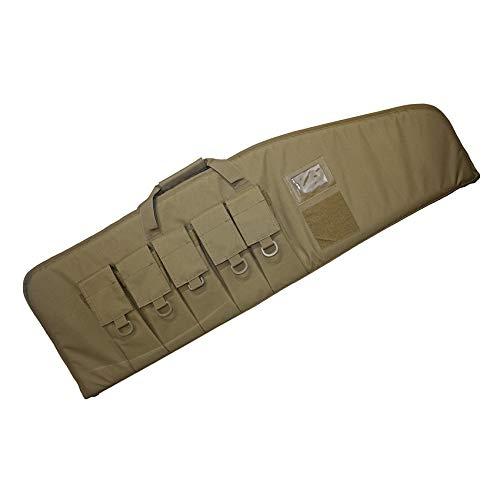 WolfWarriorX Single Soft Rifle Cases Gun Bag Tactical Shotgun Bag 38 42 Inch (Coyote, 42in)