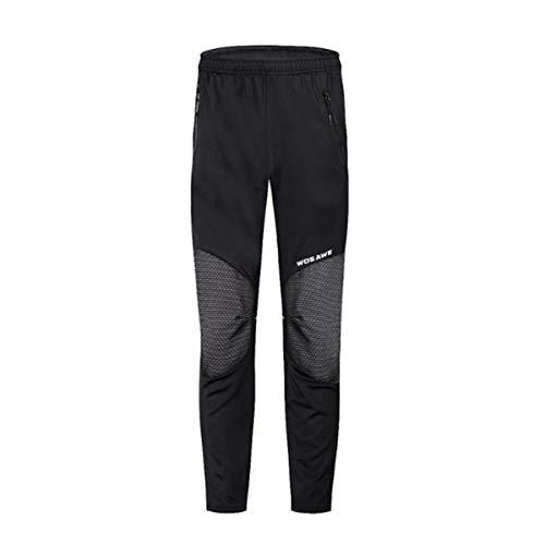 SKRCOOL Heren Fietsbroek Fleece Thermische Winter Warm Winddichte Broek Ademende Sportwear Sportieve Rijbroek