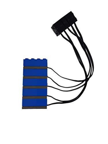 Lego Technik 5er Set LICHT-SENSOR 2982 aus Set 9890 / 9701 / 9707 / 9758 / 9785 / 9786 / 9723 / 9725 / 9780 / 9790 / 9793 / 9794 /9795 / 9719 / 9747 / 3804 / 970687 - Neuware OHNE Original-Verpackung
