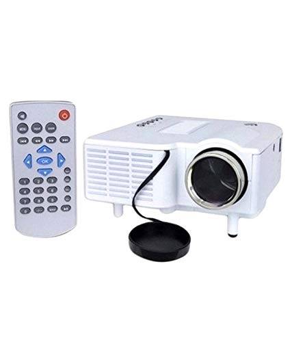 Dkian uc28 Mini Full hd Input LED Projector Home Cinema Theater 1080 USB