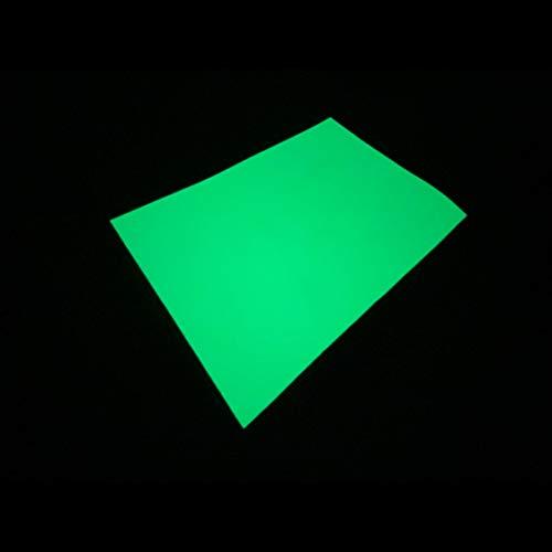 超高輝度蓄光シート(JIS - JD級・グリーン・B5サイズ) / 最長12時間発光