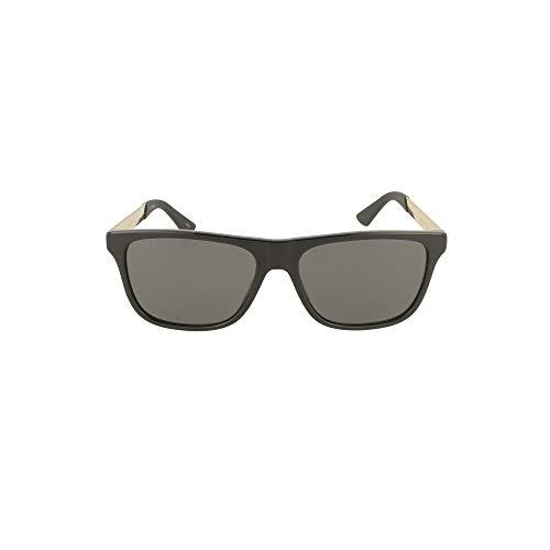 Gucci Occhiali da Sole GG0687S Black/Grey 57/17/145 uomo