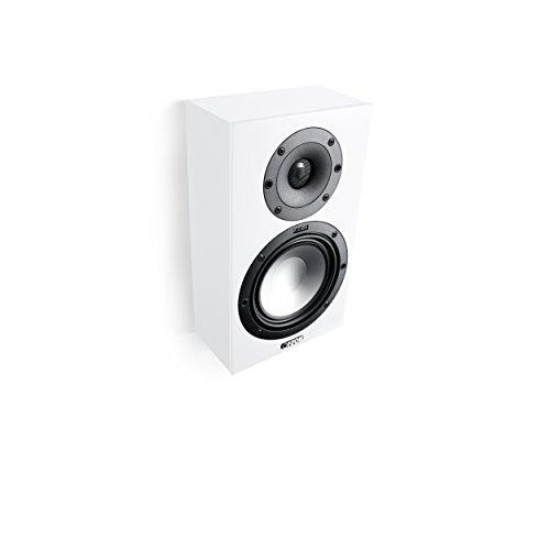 Canton GLE 416.2 60W Lautsprecher Weiß (2-Wege-Lautsprecher, mit Kabel, 60 W, 45 – 40000 Hz, 8 Ω, Weiß)