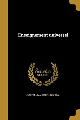 FRE-ENSEIGNEMENT UNIVERSEL
