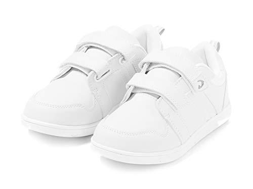 TEX - Zapatillas De Deporte para Niños, Blanco Neutro, 32 EU