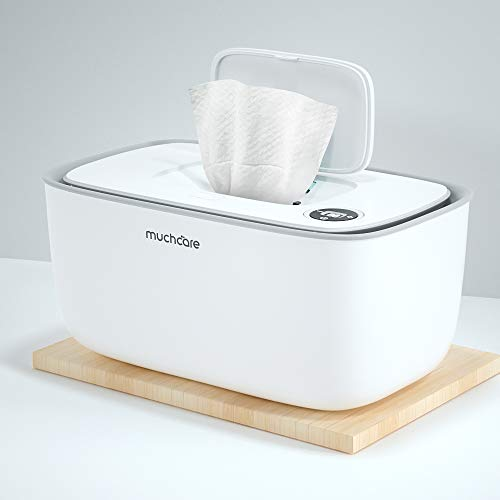 Wipe Warmer, Wipes Dispenser Muchcare Wipes Container with Soft Nightlight, Makes Your Baby Feel Comfortable and Relaxed Through Every Diaper Change
