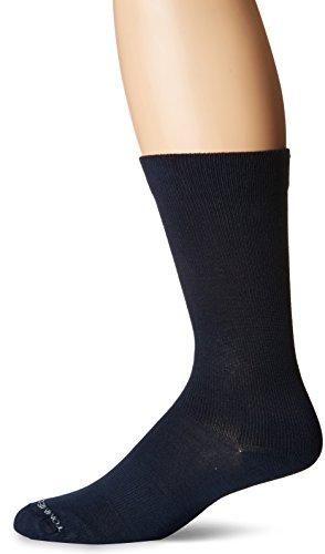 Tommie Kupfer Herren Kleid Micro Modal Compression Crew Socken, Herren, Midnight Navy (Marineblau)