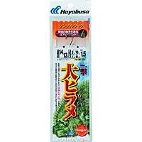 ハヤブサ(Hayabusa) 活き餌一撃 大ヒラメ シングル 1セット 14/13-8