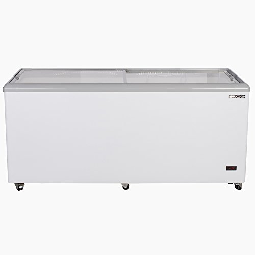 """Maxx Cold MXF71F 71"""" 20 cu ft Commercial Mobile Ice Cream Display Freezer"""