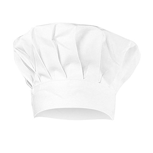 Monbedos Kinder Kochmütze Kochmütze größenverstellbarem weiße Kochmütze eine Familienküche für die Kinder