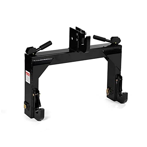 Titan Attachments 3-Point Quick Hitch fits Cat 1 & 2 Tractors Easily...