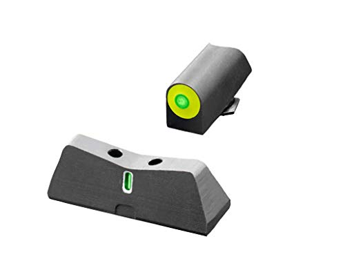 XS Sights DXT2 Big Dot Night Sight for Glock Pistols (Glock 17, 19, 22-24, 26, 27, 31-36, 38, Yellow)
