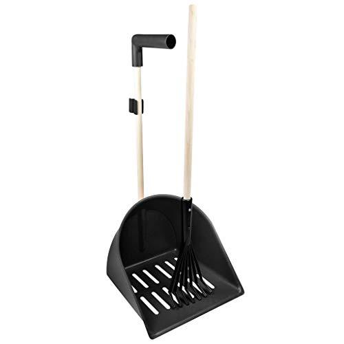 XL Mistboy Shaker mit Rechen, schwarz