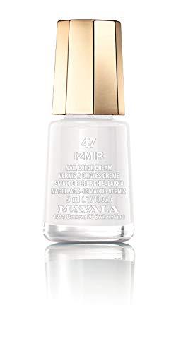 MAVALA Mini Colors Pintauñas   Esmalte De Uñas   Laca De Uñas   47 Colores Diferentes   Color Izmir 47 (blanco), Vanilla, 5 Mililitro