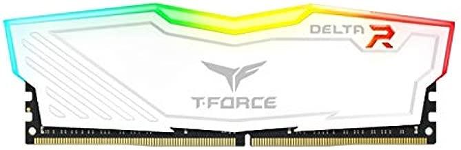 Team 16GB (2 x 8GB) T-Force Delta II RGB Series DDR4 PC4-24000 3000MHz Desktop Memory Model TF4D416G3000HC16CDC01